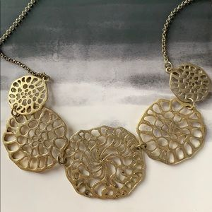 Cutout Gold Necklace